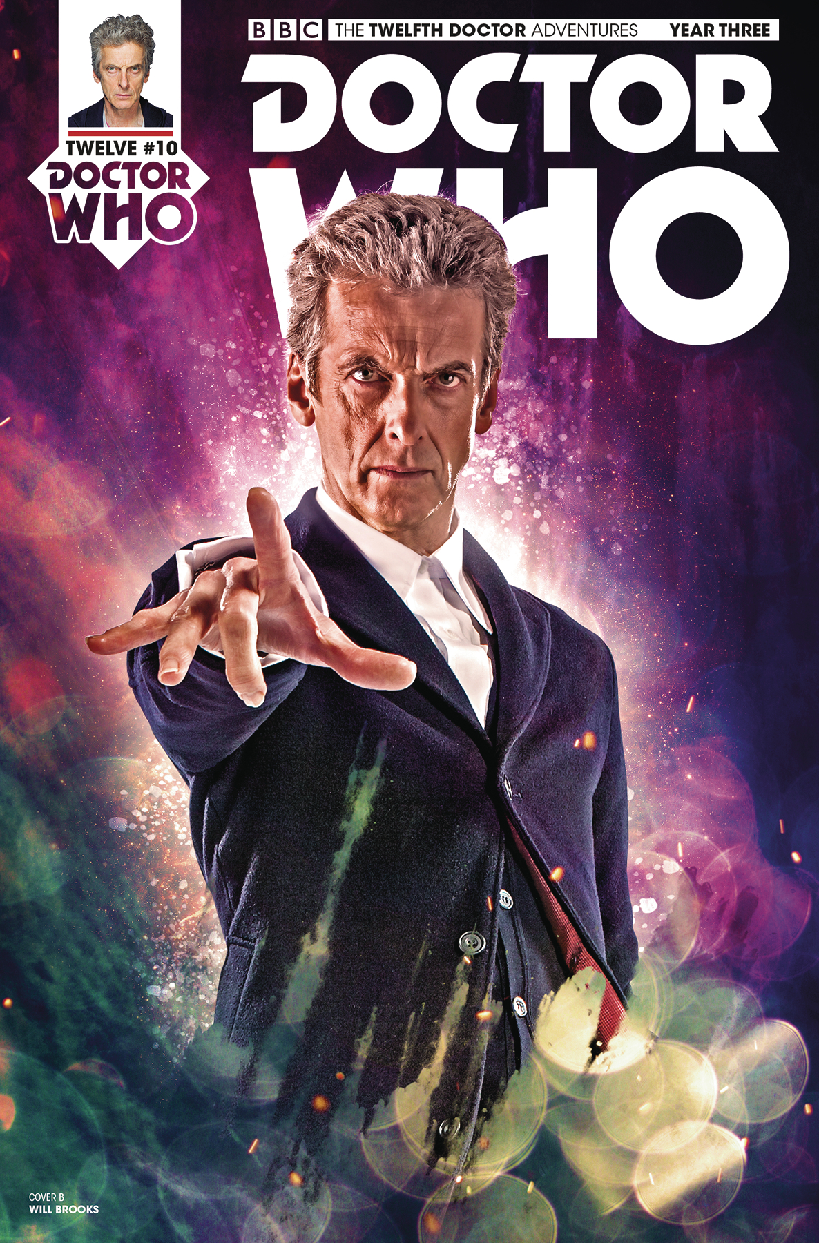 DOCTOR WHO 12TH YEAR THREE #11 CVR B PHOTO