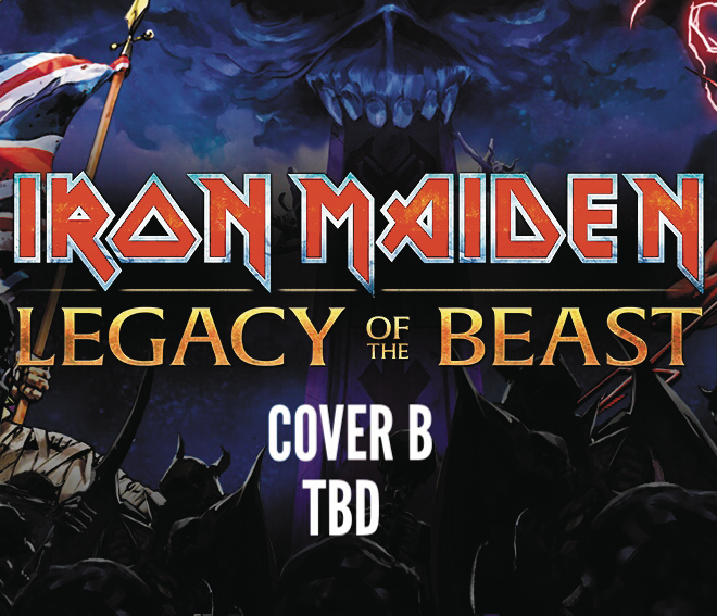 IRON MAIDEN LEGACY OF THE BEAST #3 (OF 5) CVR B TBD