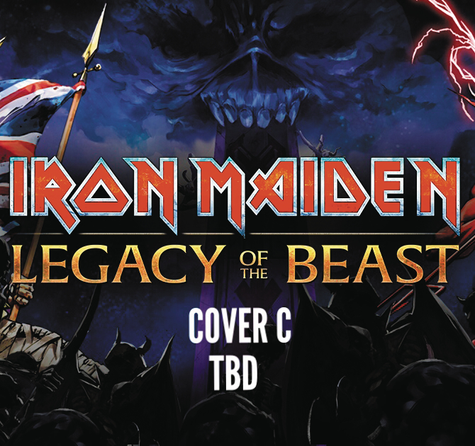 IRON MAIDEN LEGACY OF THE BEAST #3 (OF 5) CVR C GORDER