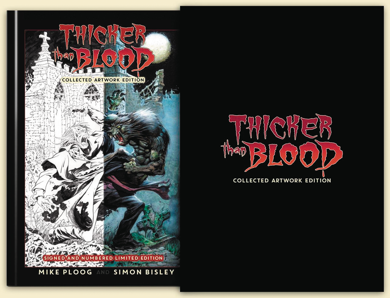 THICKER THAN BLOOD COLLECTED ARTWORK S&N LTD ED