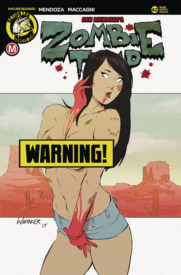 ZOMBIE TRAMP ONGOING #42 CVR F WHITAKER RISQUE (MR)