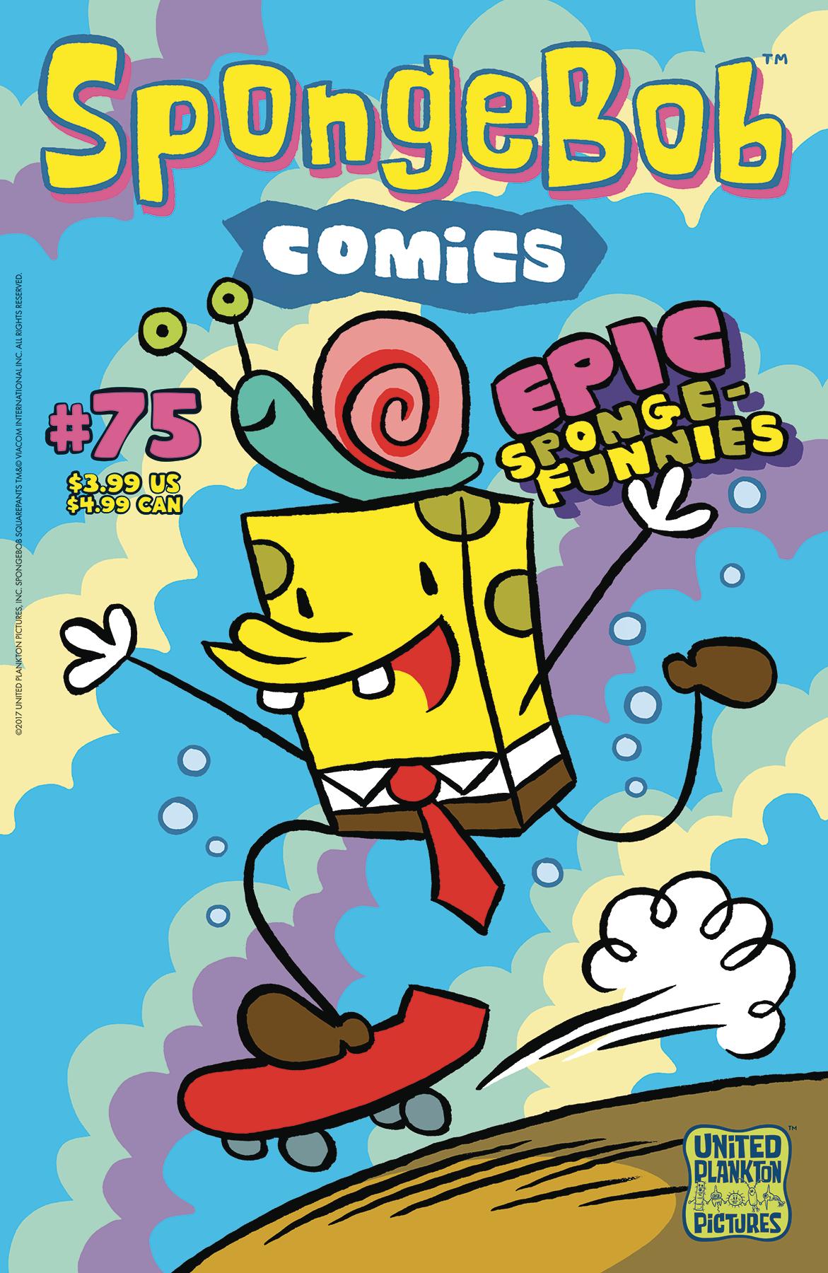 SPONGEBOB COMICS #75