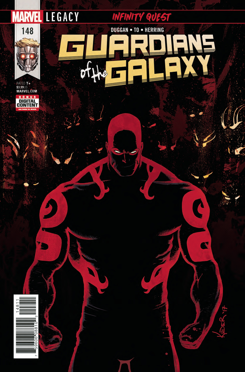 GUARDIANS OF GALAXY #148 LEG