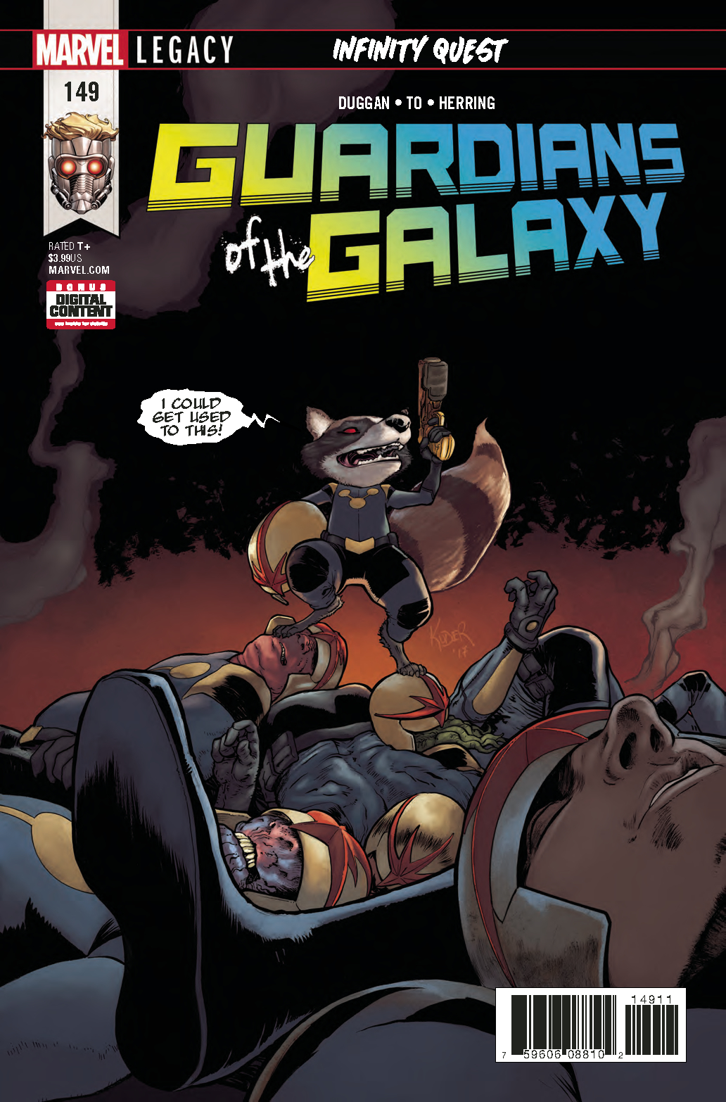 GUARDIANS OF GALAXY #149 LEG