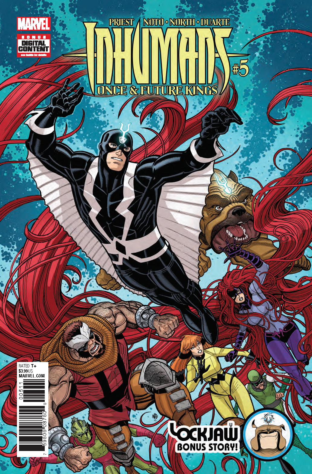 INHUMANS ONCE FUTURE KINGS #5 (OF 5)