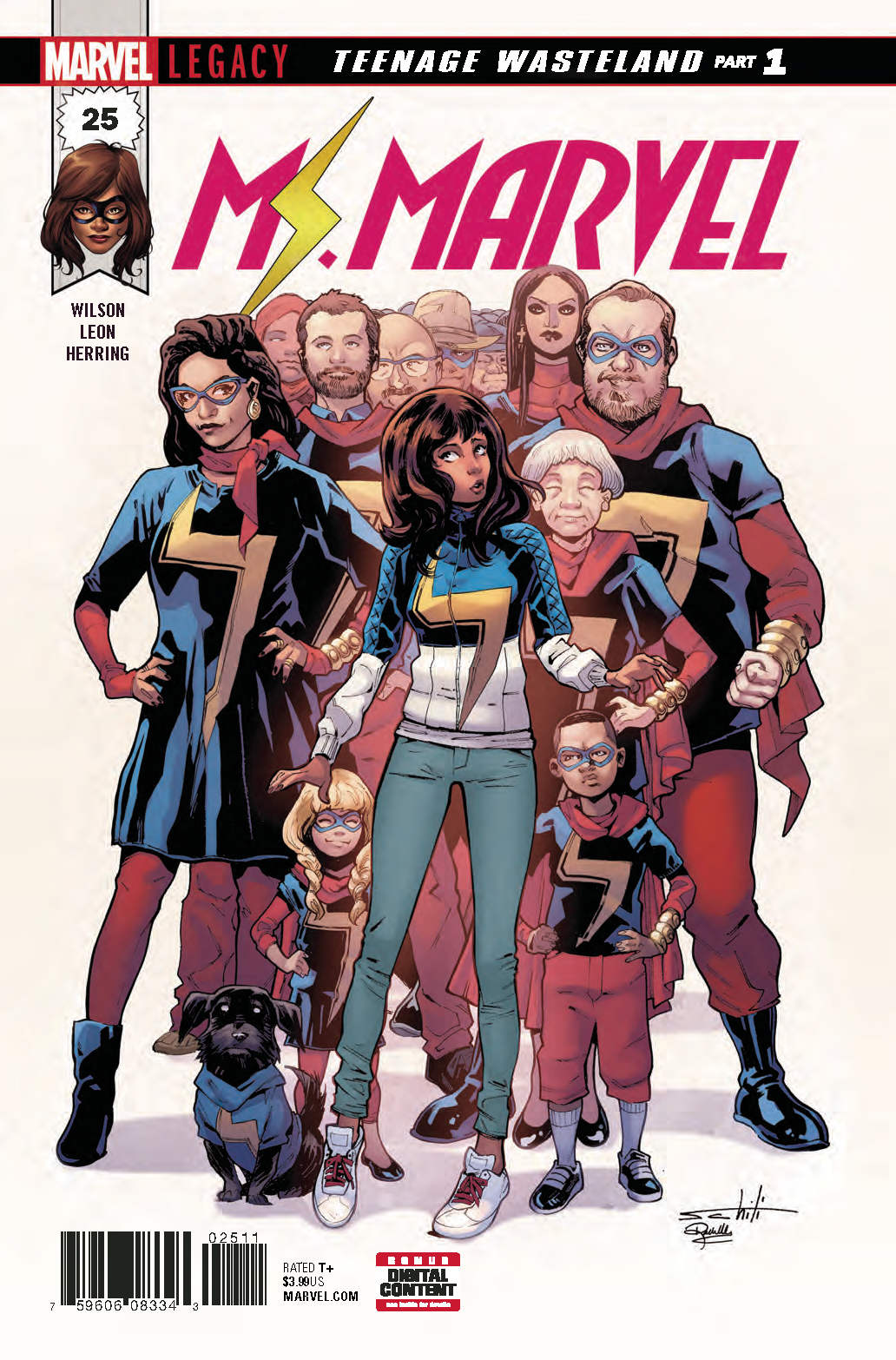 MS MARVEL #25 LEG