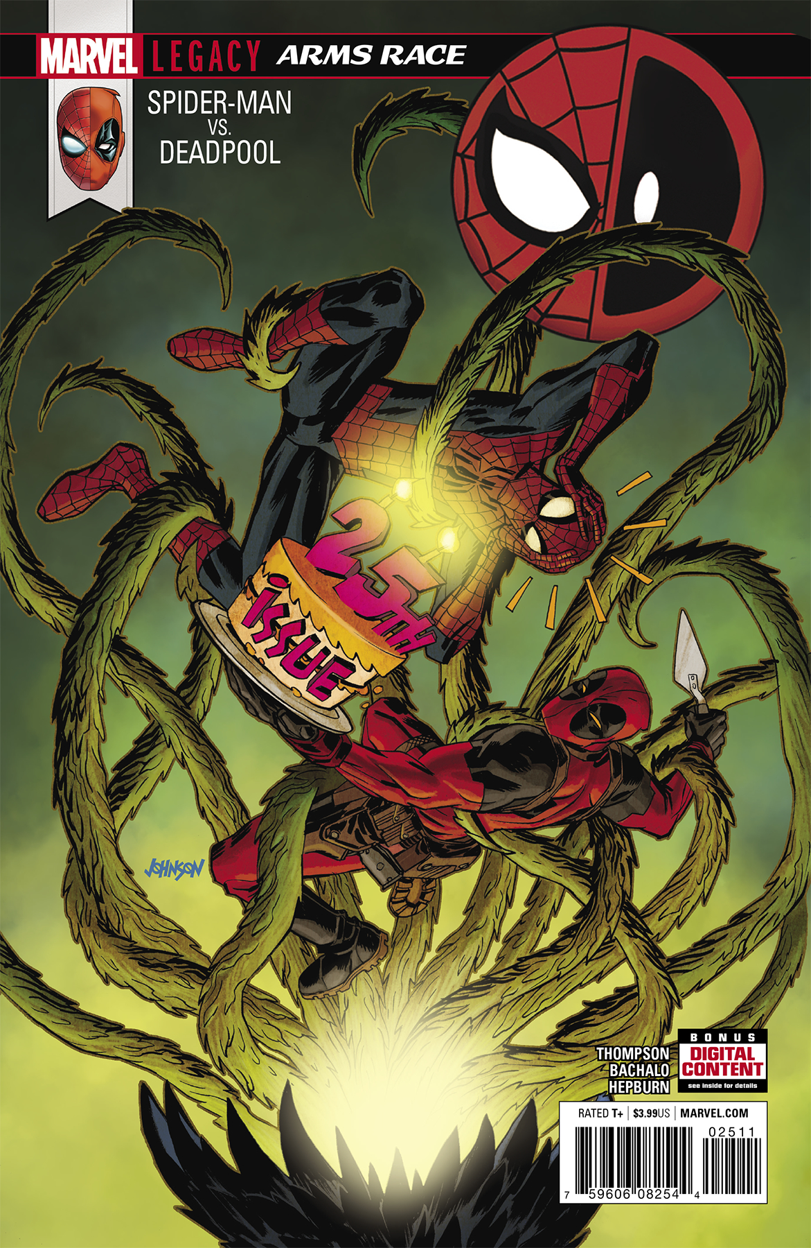 SPIDER-MAN DEADPOOL #25 LEG