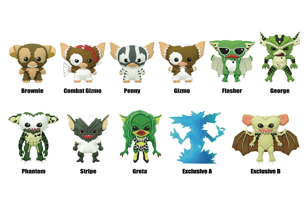 GREMLINS SERIES 2 LASER CUT FIG KEYRING 24PC BMB DS