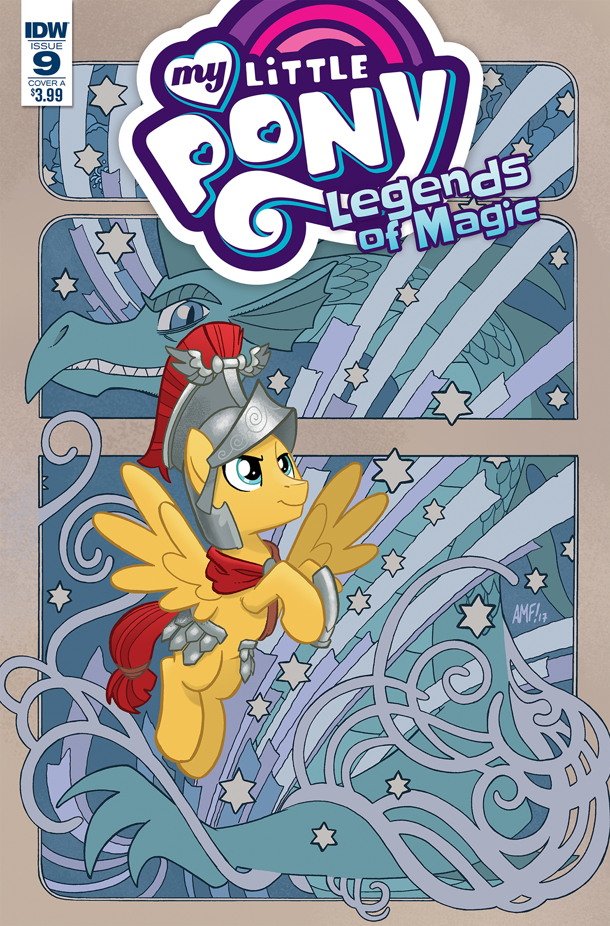 MY LITTLE PONY LEGENDS OF MAGIC #9 CVR A FLEECS