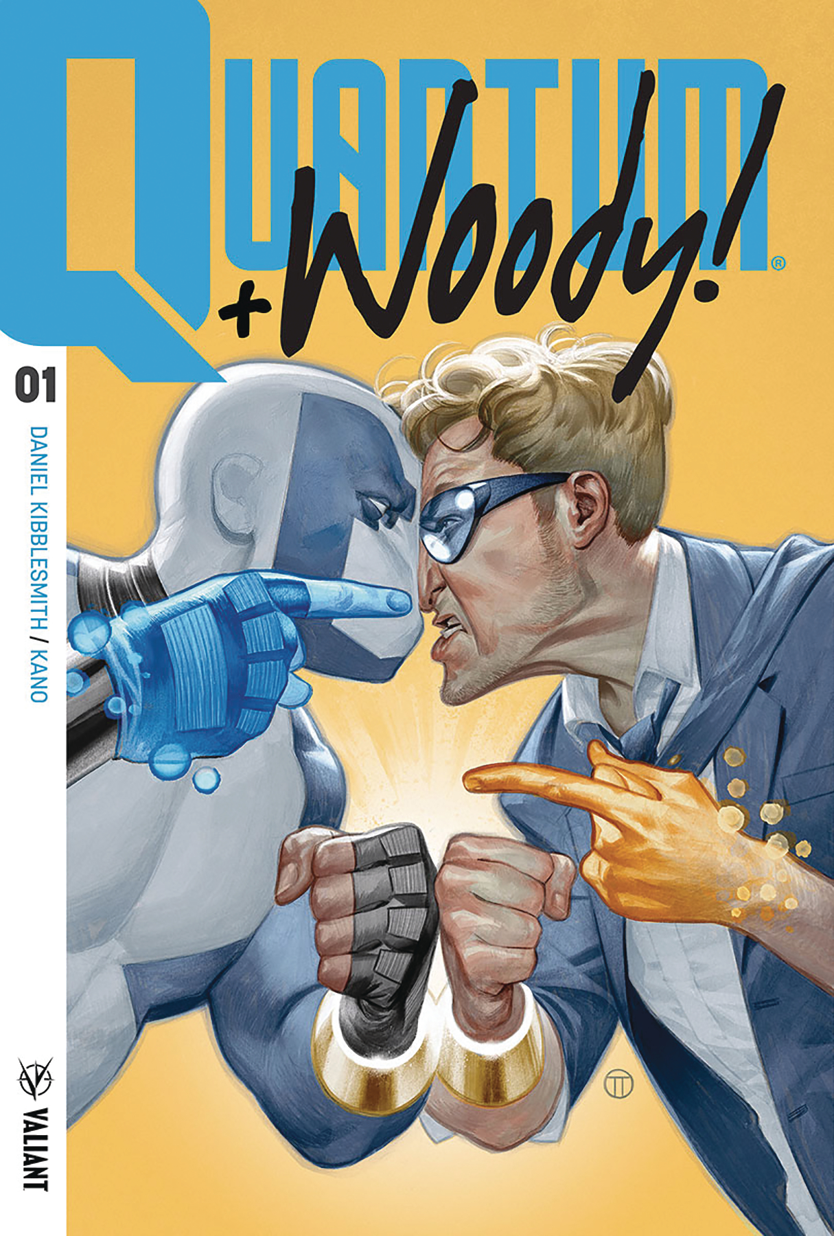 (USE NOV178049) QUANTUM & WOODY (2017) #1 CVR A TEDESCO (NET