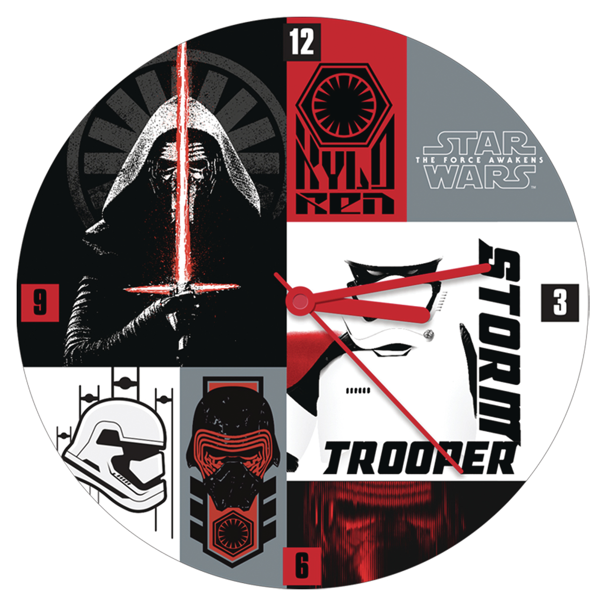 Oct172860 Sw E7 Collage 135 In Cordless Wood Wall Clock