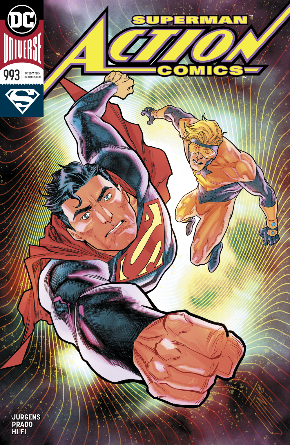 ACTION COMICS #993 VAR ED