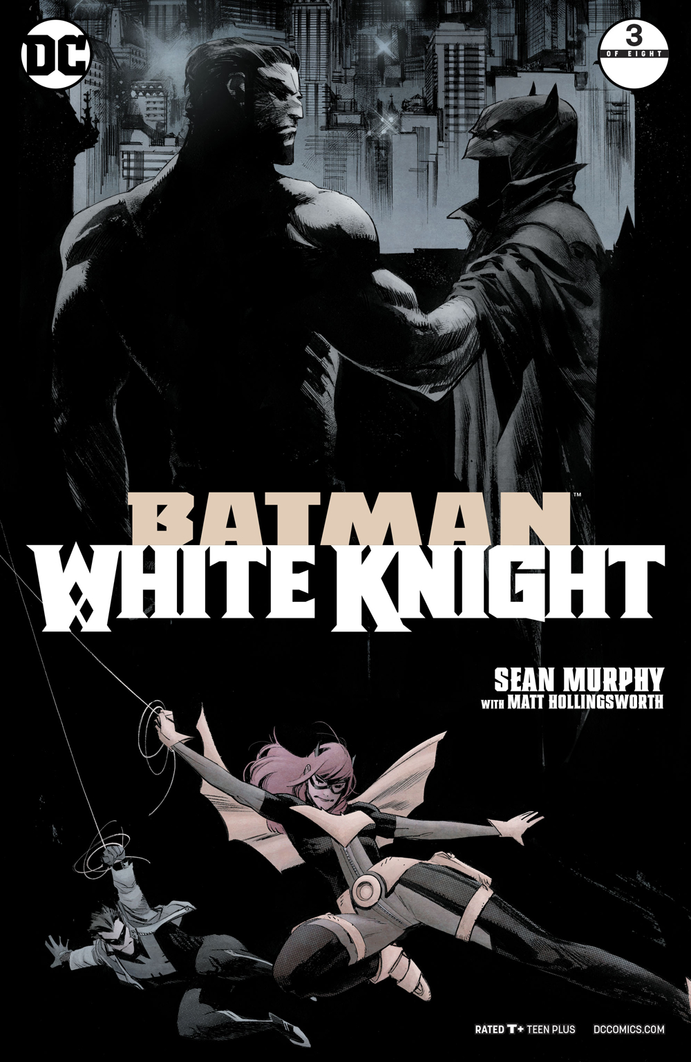 BATMAN WHITE KNIGHT #3 (OF 8)