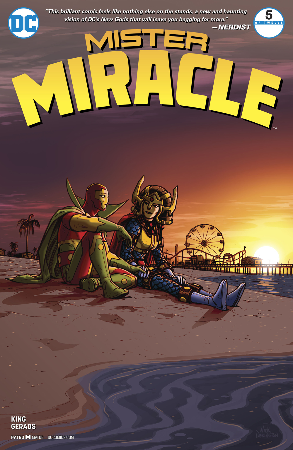 MISTER MIRACLE #5 (OF 12) (MR)