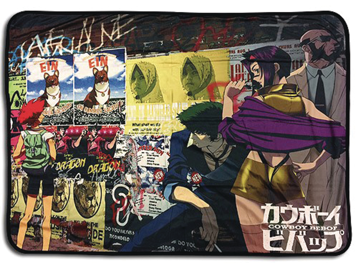 COWBOY BEBOP GROUP SUBLIMATION THROW BLANKET
