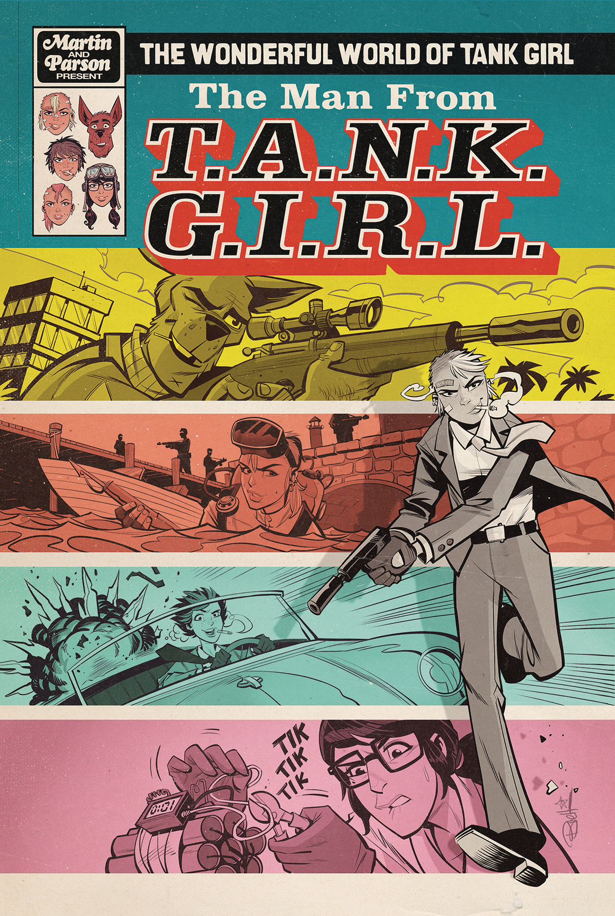 WONDERFUL WORLD OF TANK GIRL #3 CVR A PARSON