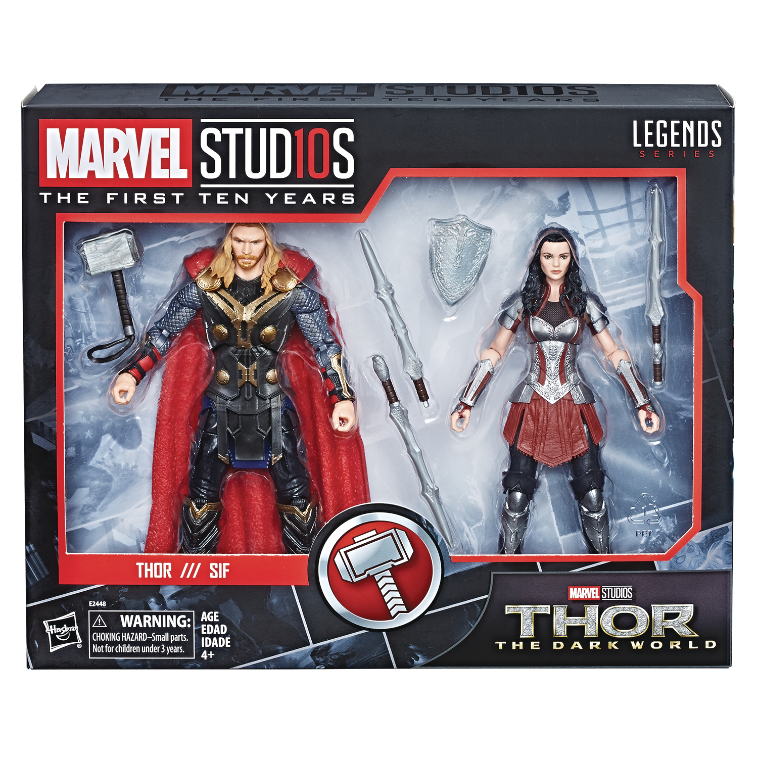 MARVEL MCU 10TH ANN THOR 2 AF SET CS (Net)