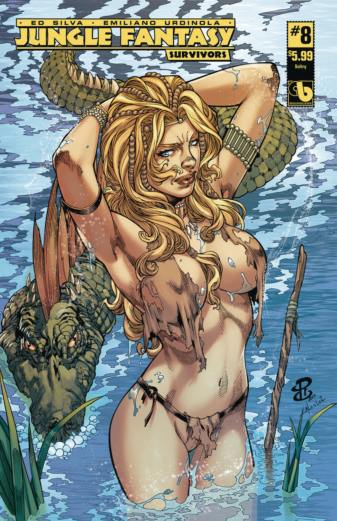 JUNGLE FANTASY SURVIVORS #8 SULTRY