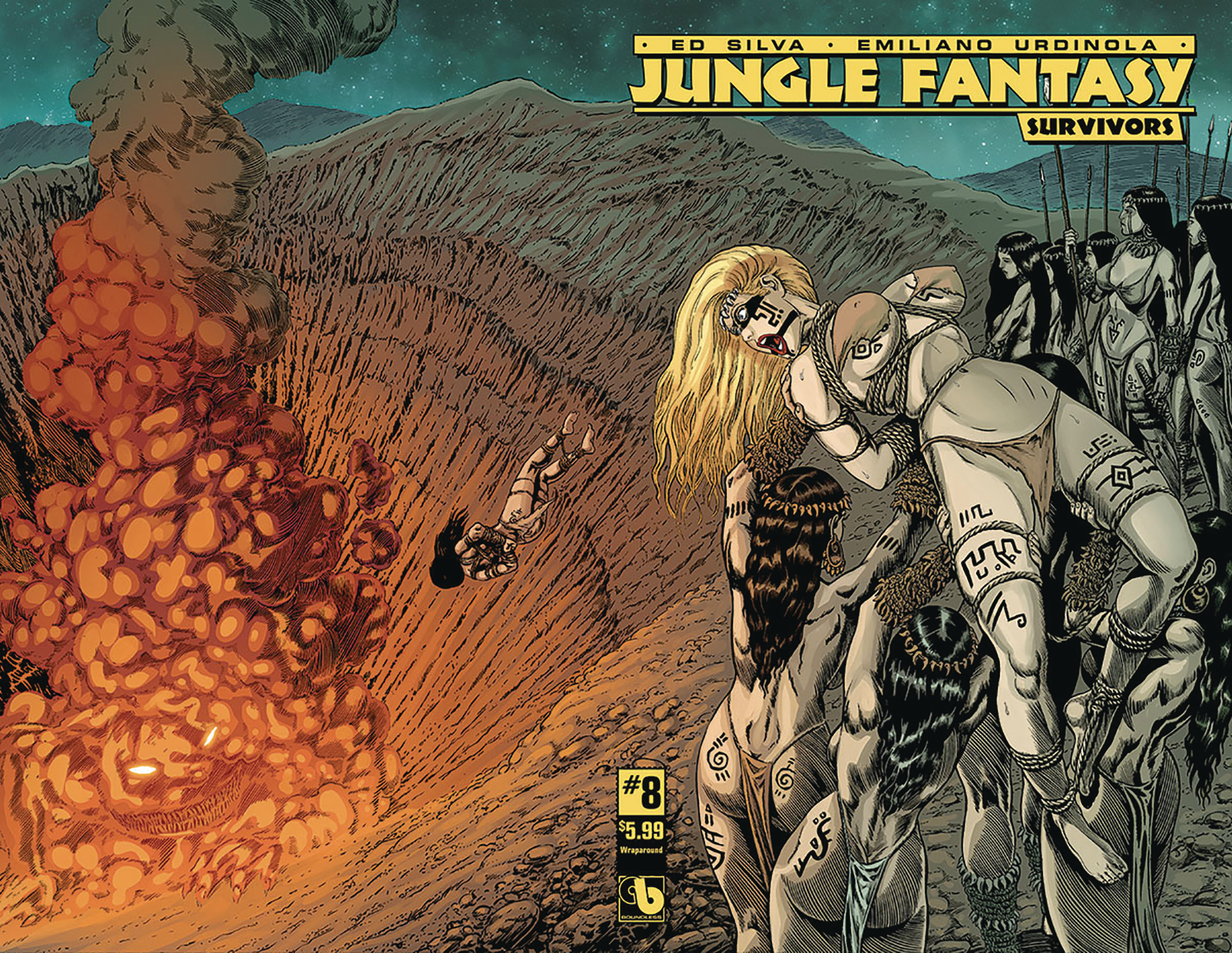 JUNGLE FANTASY SURVIVORS #8 WRAP (MR)
