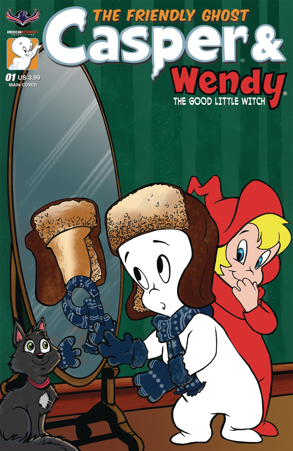 casper and wendy. casper and wendy #1 main cvr casper and wendy