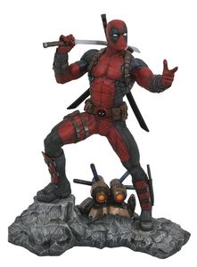 MARVEL PREMIER COLL DEADPOOL STATUE