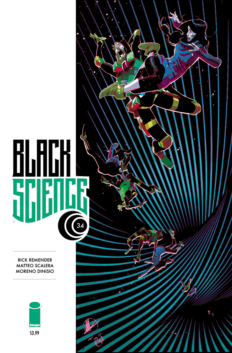 BLACK SCIENCE #34 CVR A SCALERA & DINISIO (MR)