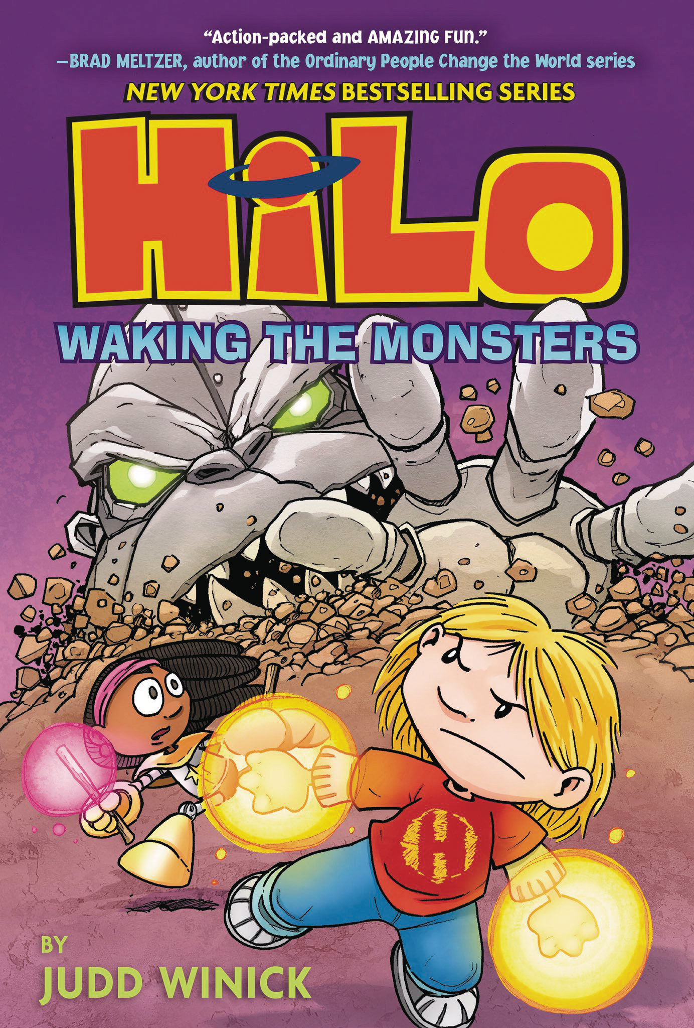 HILO GN VOL 04 WAKING THE MONSTERS