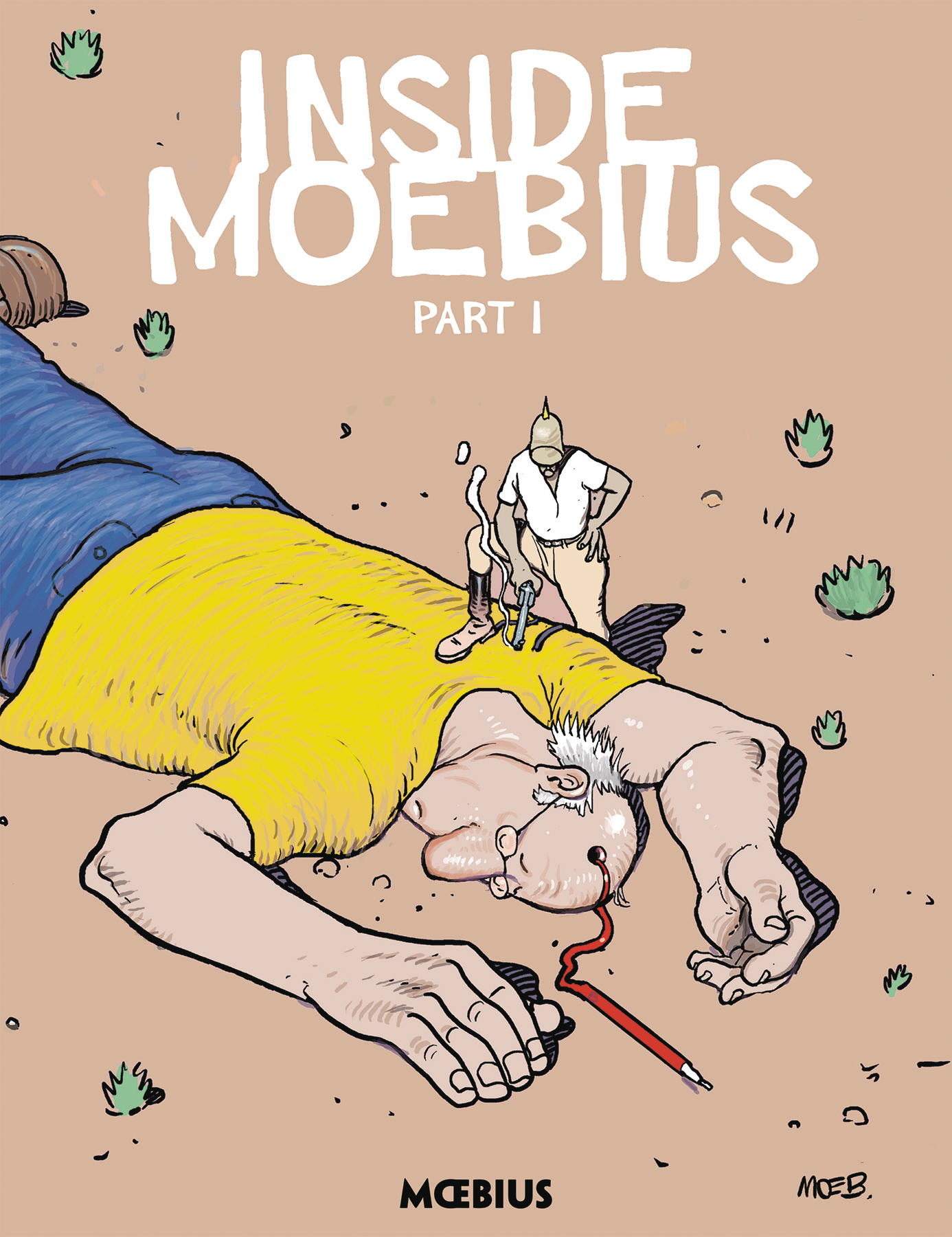 MOEBIUS LIBRARY INSIDE MOEBIUS HC VOL 01 (OCT170050)
