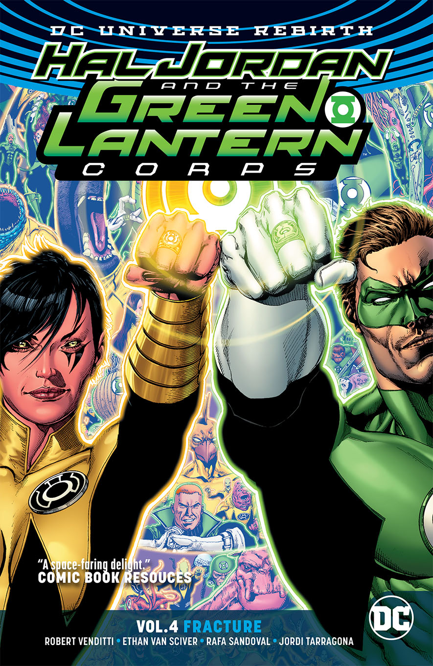 HAL JORDAN & THE GLC TP VOL 04 FRACTURE