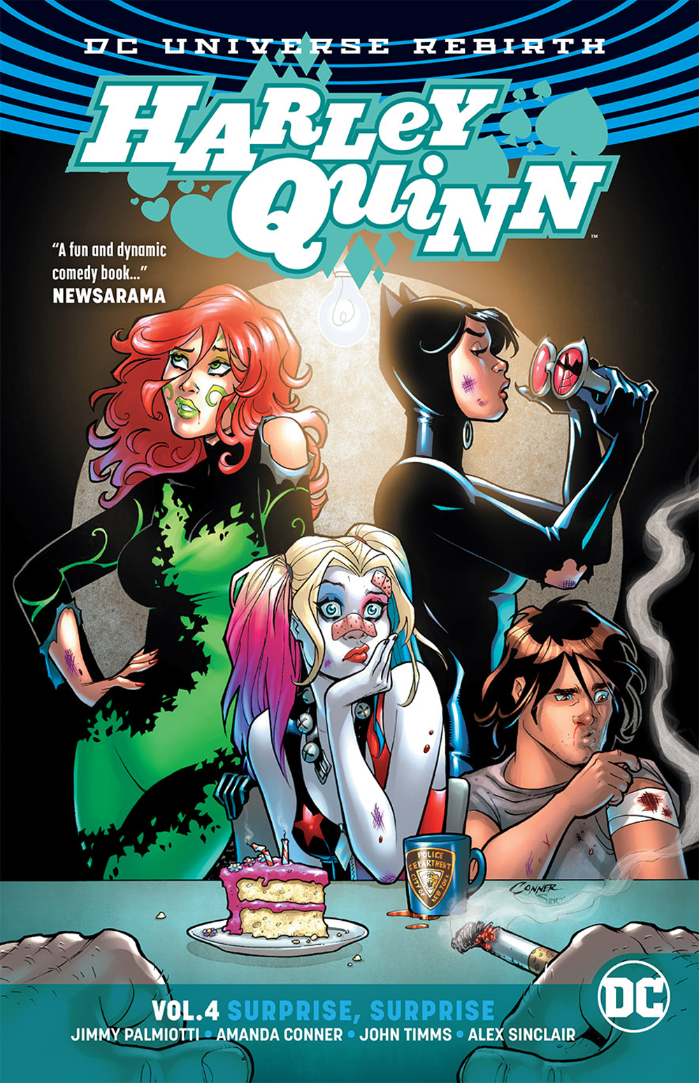 HARLEY QUINN TP VOL 04 SURPRISE SURPRISE
