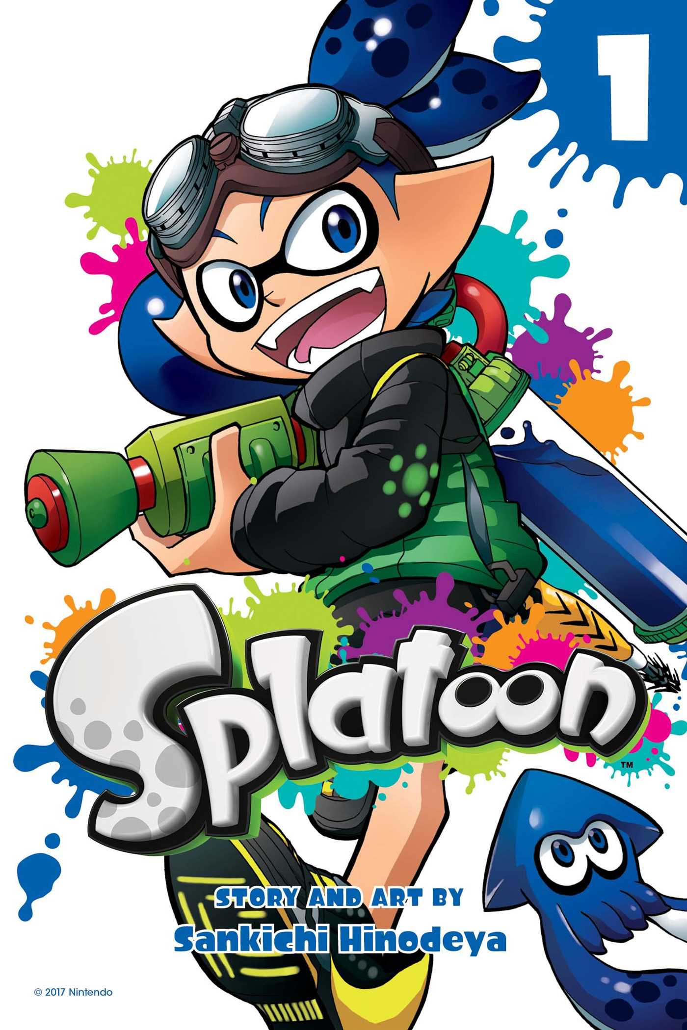 SPLATOON MANGA GN VOL 01