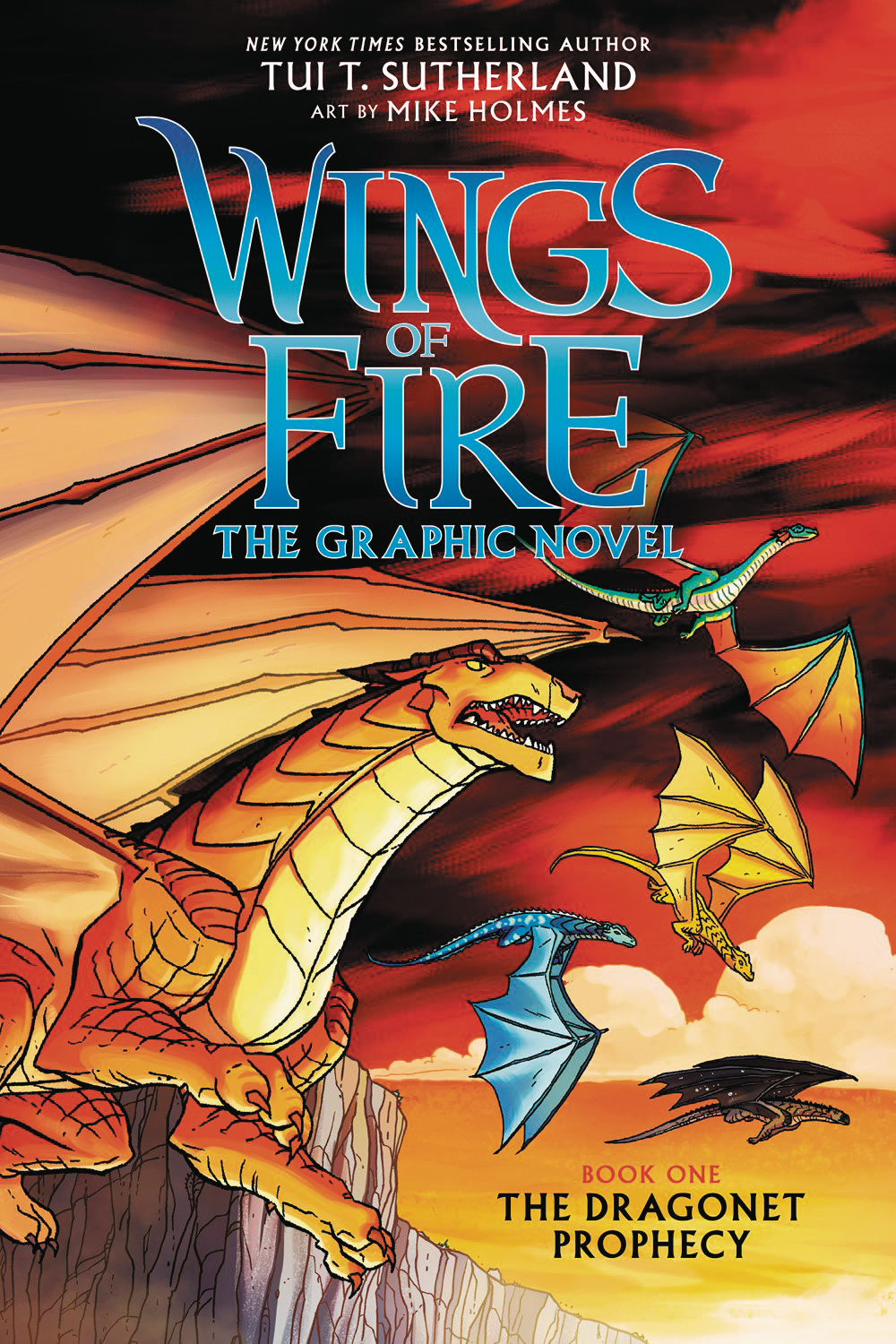 WINGS OF FIRE HC GN VOL 01 DRAGONET PROPHECY