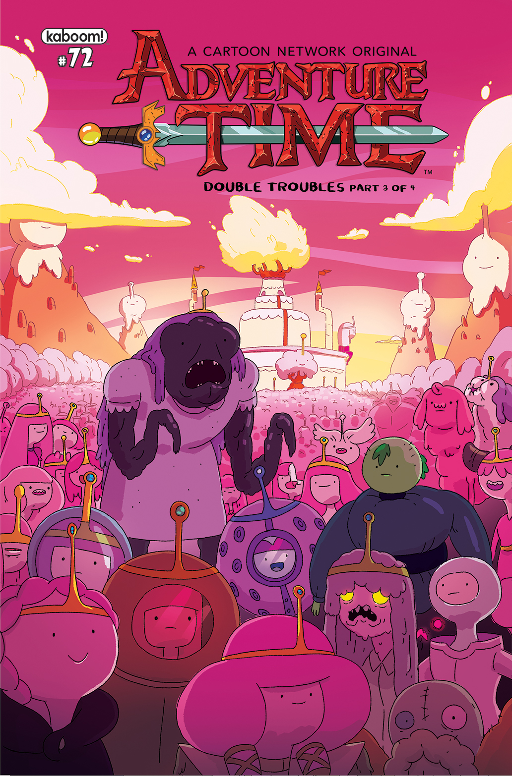 ADVENTURE TIME #72 SUBSCRIPTION MCCORMICK VAR