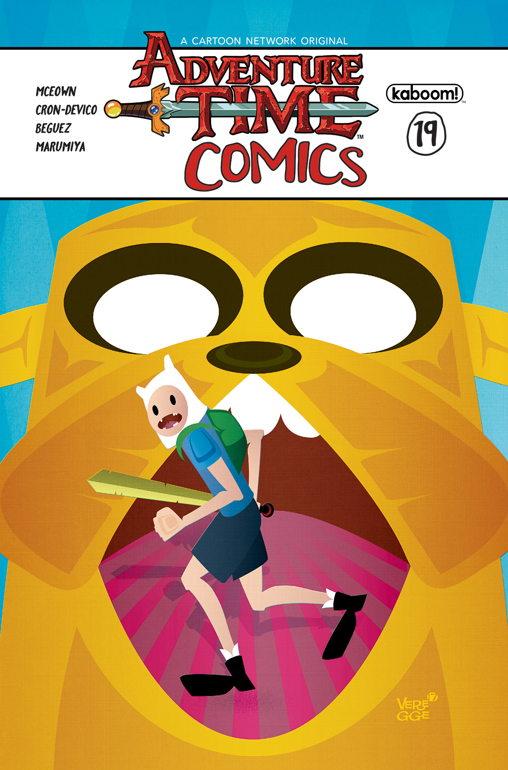 ADVENTURE TIME COMICS #19 SUBSCRIPTION VEREGGE VAR