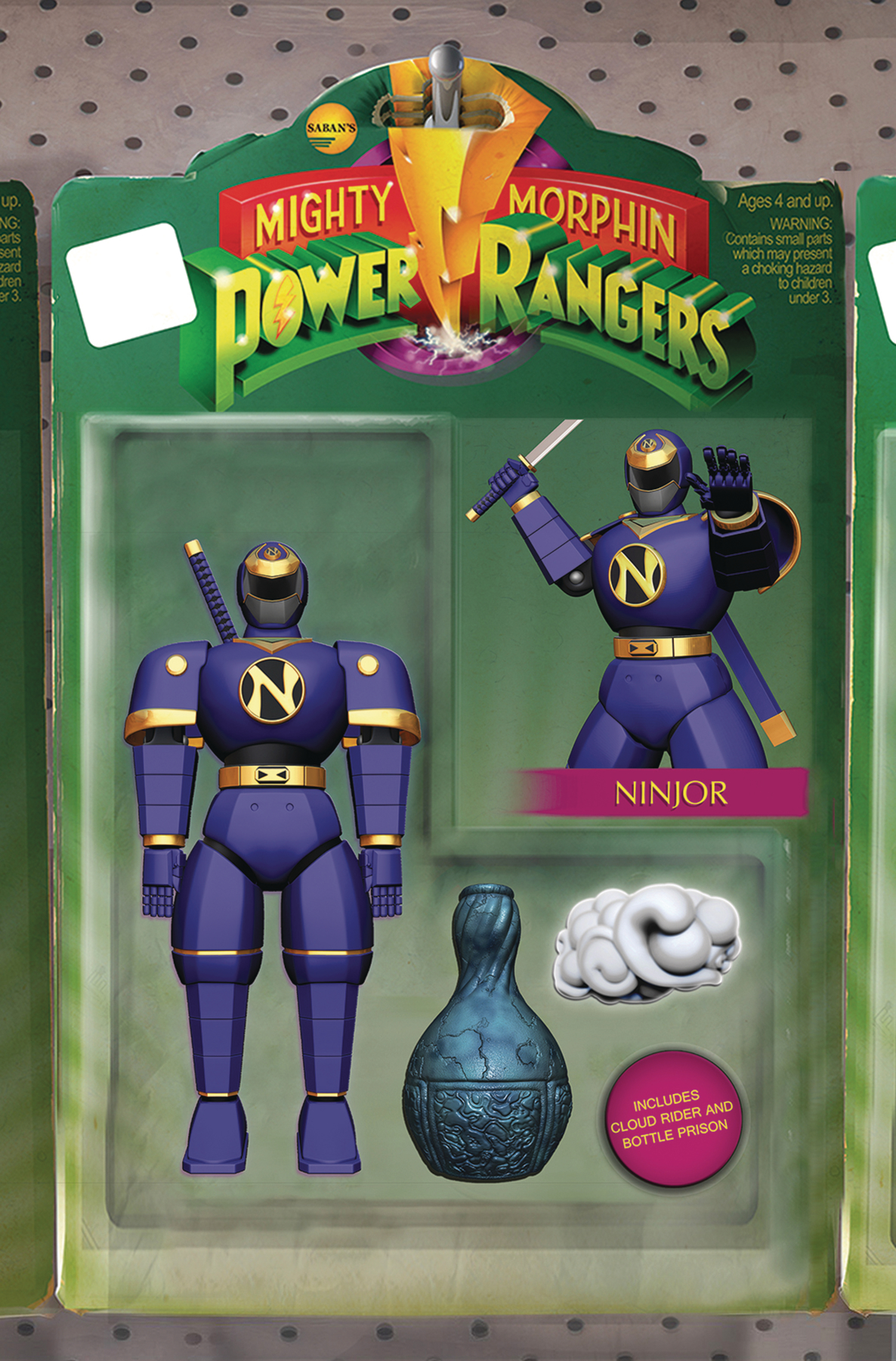 MIGHTY MORPHIN POWER RANGERS #23 UNLOCKABLE ACTION FIGURE VA