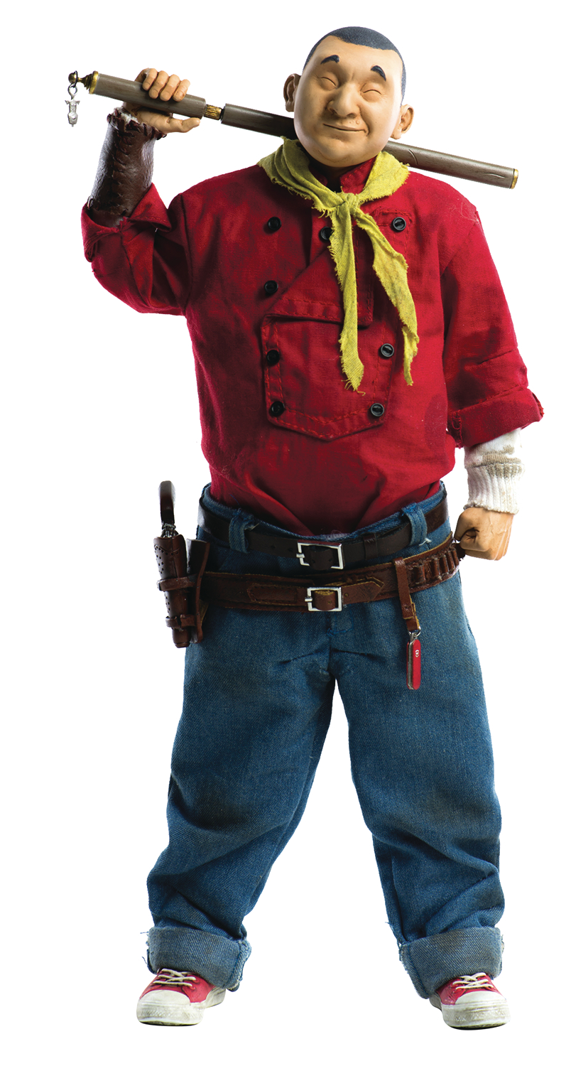 GEOF DARROW X THREEA SHAOLIN COWBOY 1/6 SCALE FIG