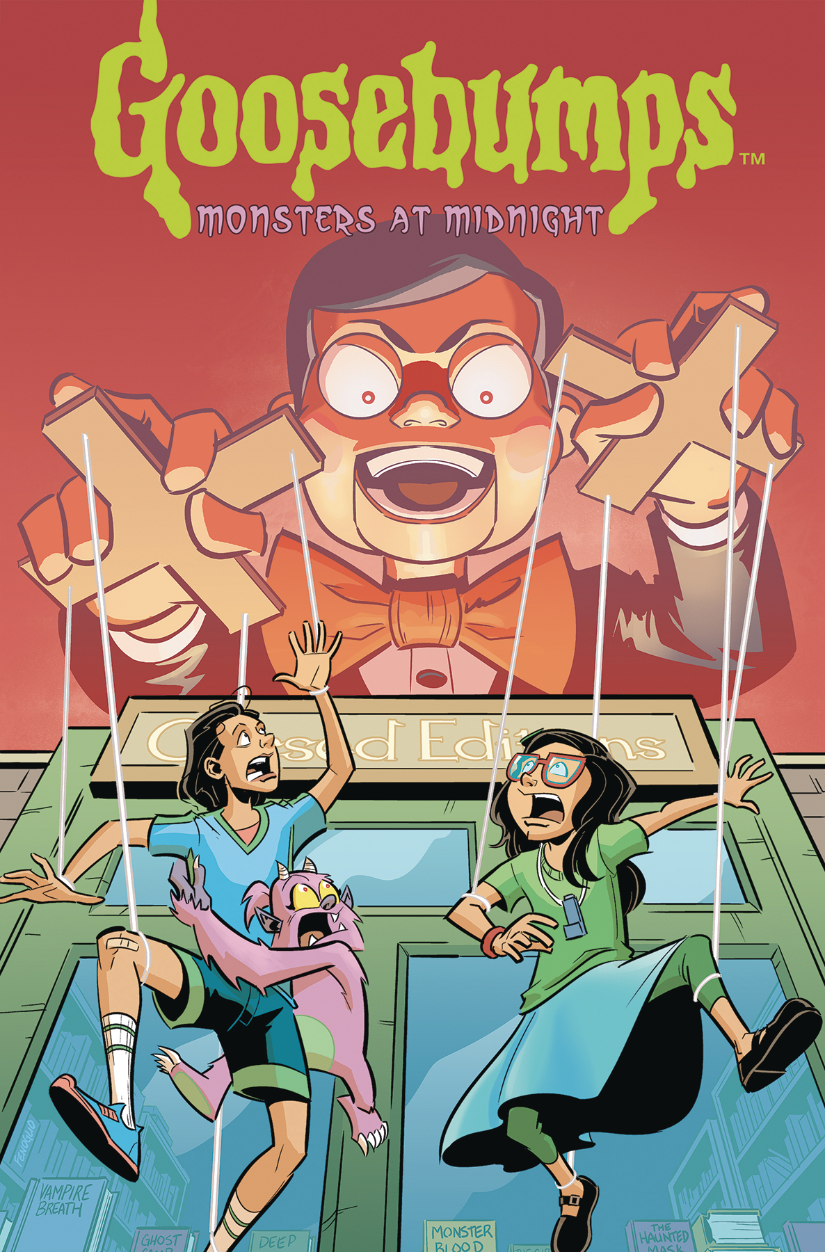 GOOSEBUMPS MONSTERS AT MIDNIGHT HC