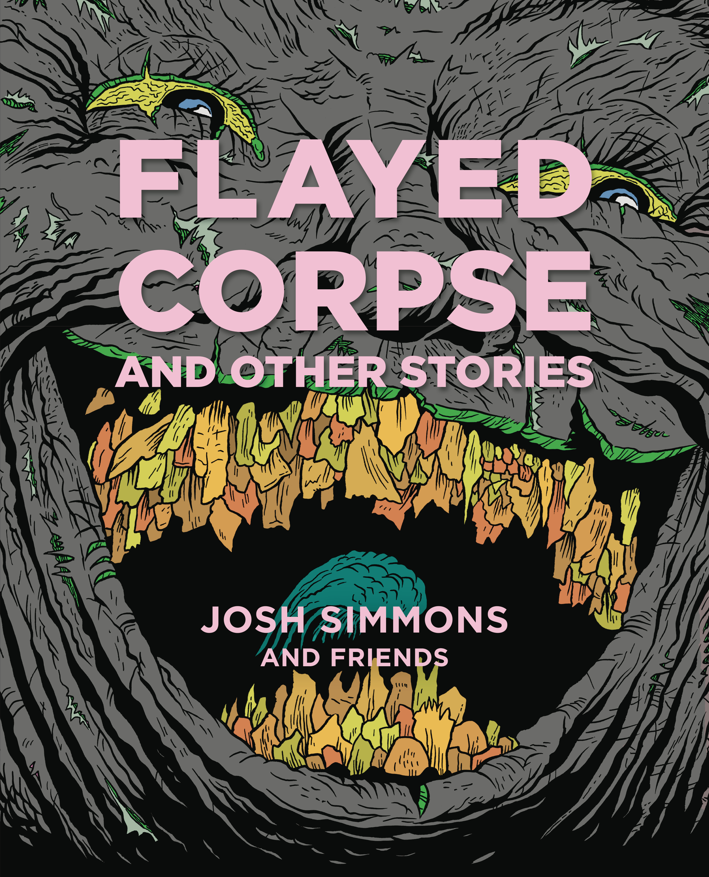 FLAYED CORPSE AND OTHER STORIES HC