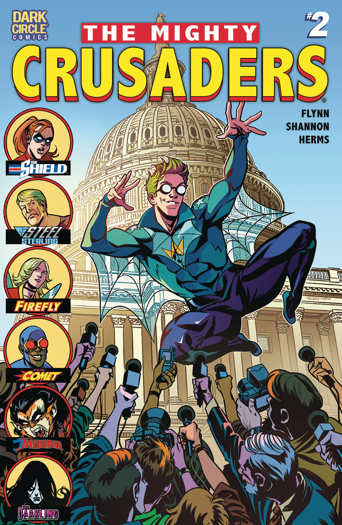 MIGHTY CRUSADERS #2 CVR A SHANNON