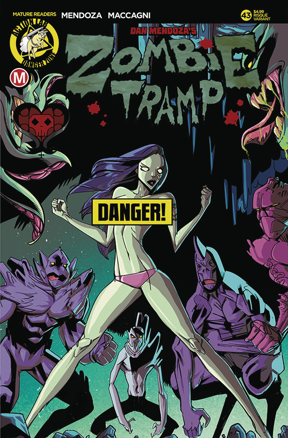 ZOMBIE TRAMP ONGOING #43 CVR B CELOR RISQUE (MR)