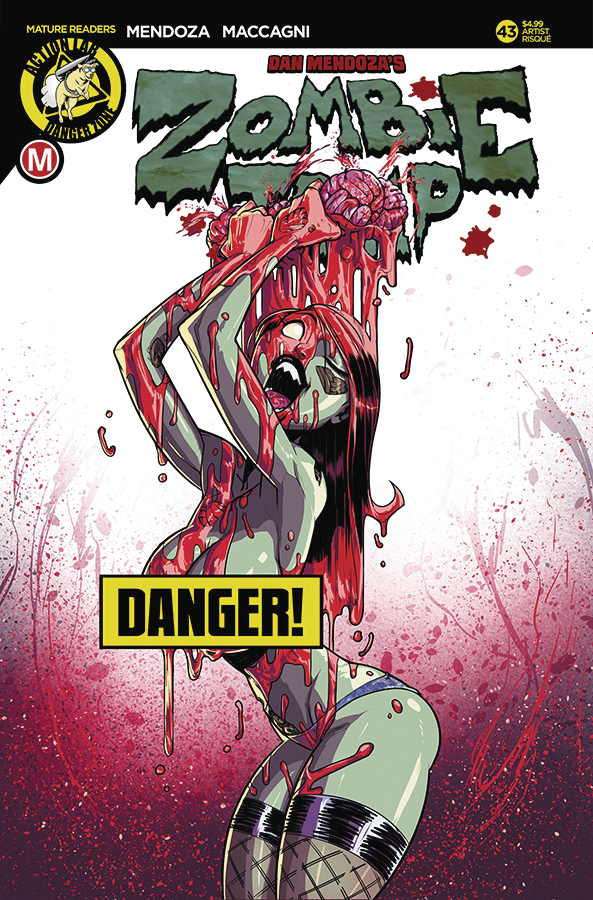 ZOMBIE TRAMP ONGOING #43 CVR D FEDERHENN RISQUE (MR)