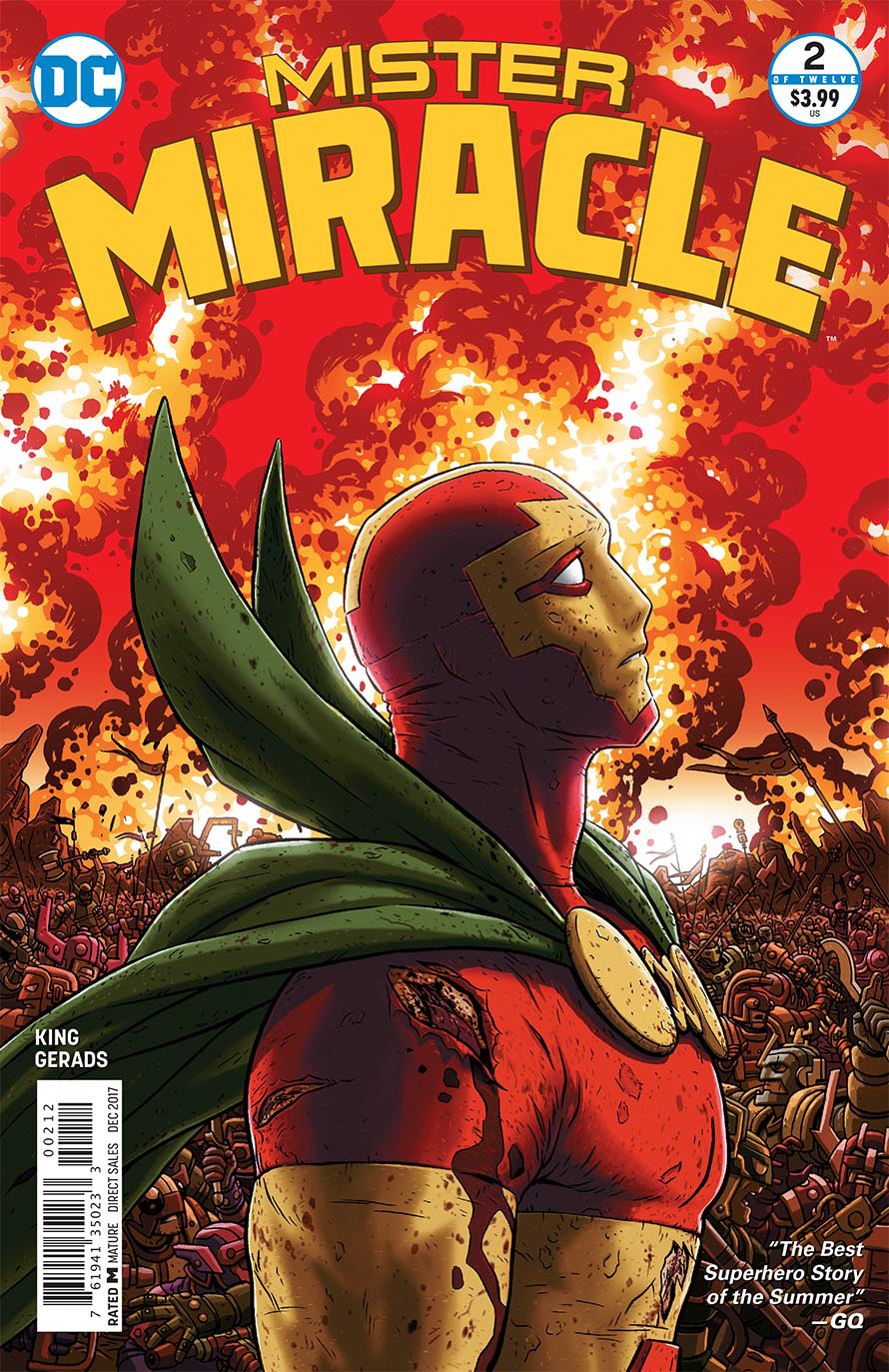 MISTER MIRACLE #2 (OF 12) 2ND PTG (MR)