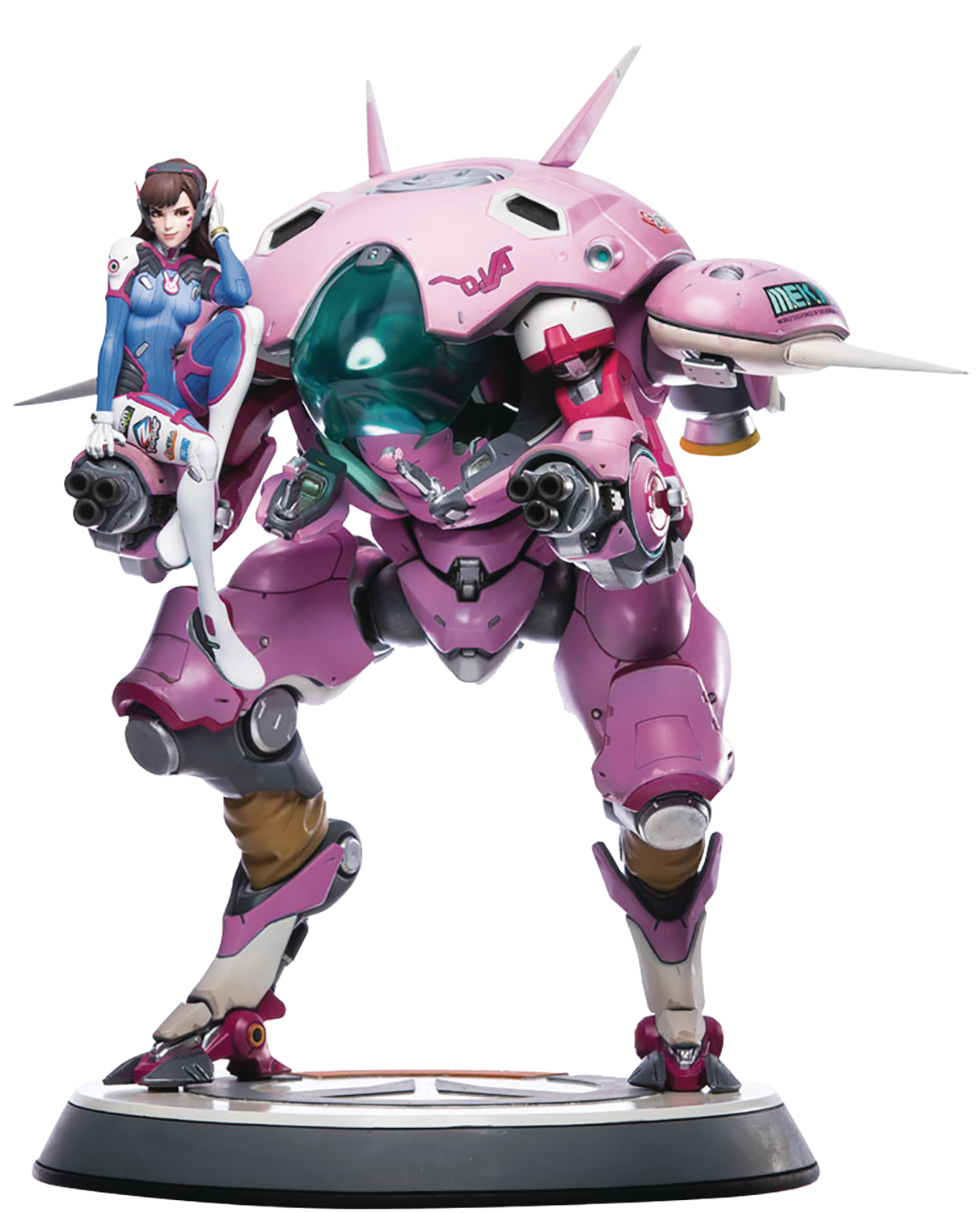 OVERWATCH D.VA 20IN STATUE