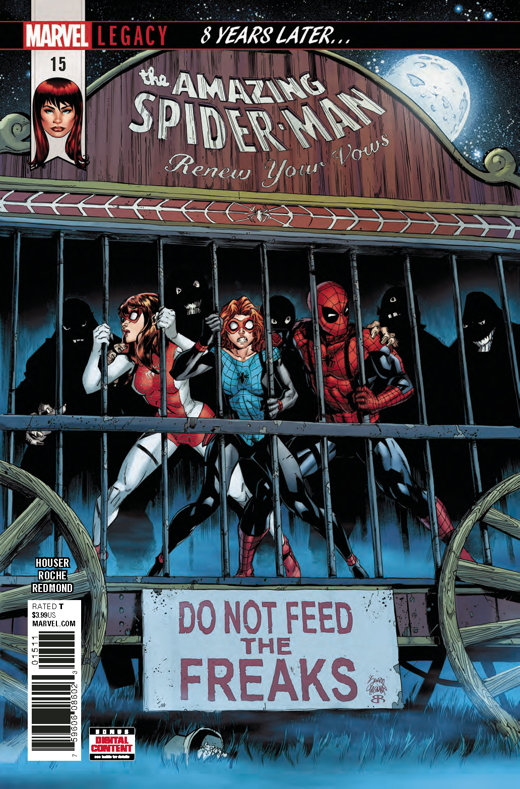 AMAZING SPIDER-MAN RENEW YOUR VOWS #15 LEG