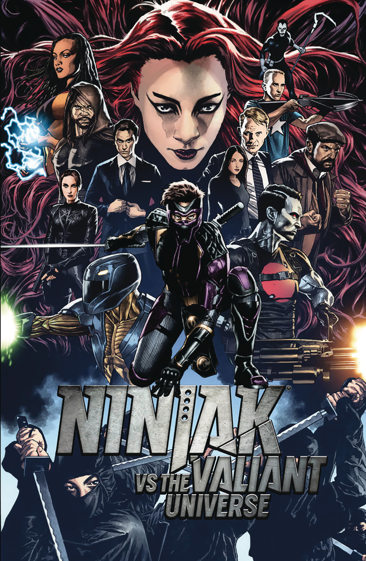 Ninjak vs Vu #1