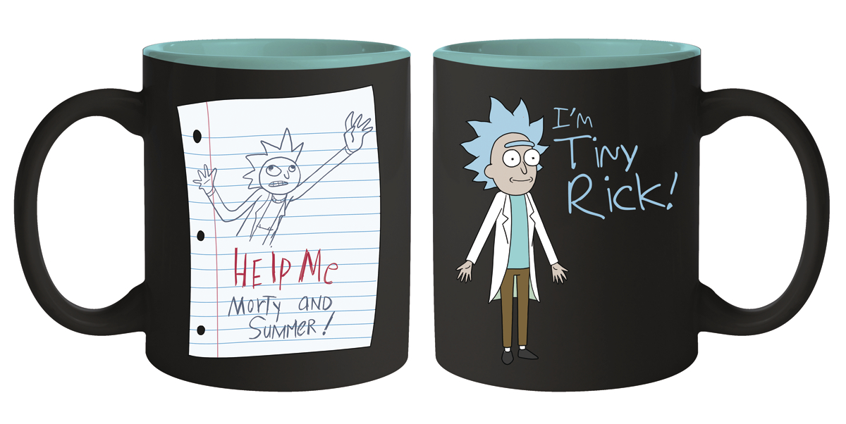 RICK AND MORTY TINY RICK MUG