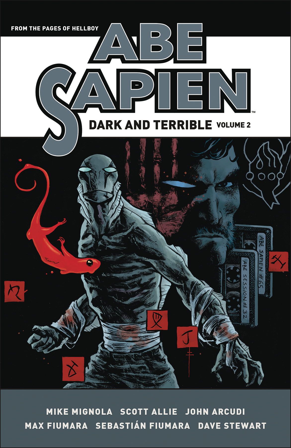 ABE SAPIEN DARK & TERRIBLE HC VOL 02 (NOV170018)