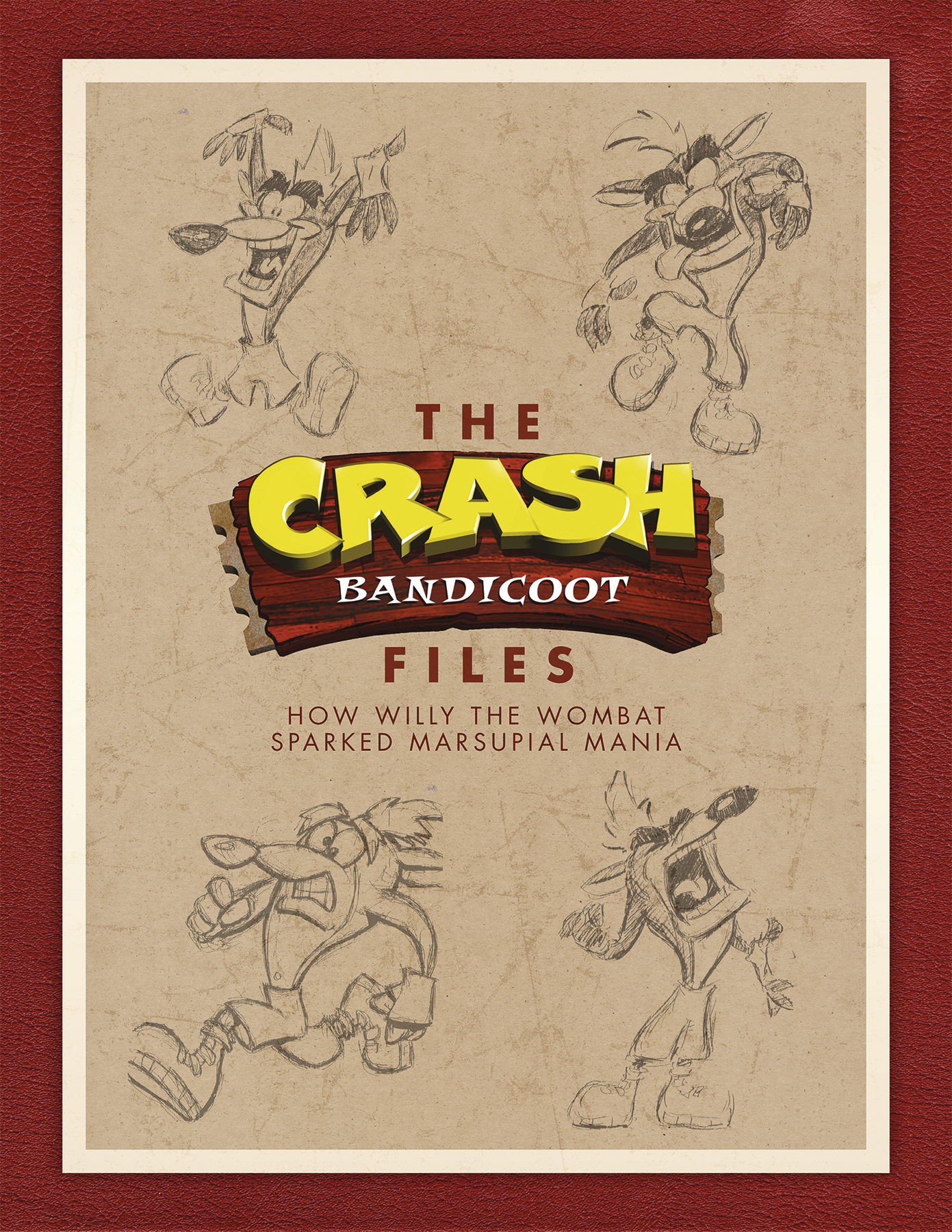 CRASH BANDICOOT FILES HC (NOV170045)