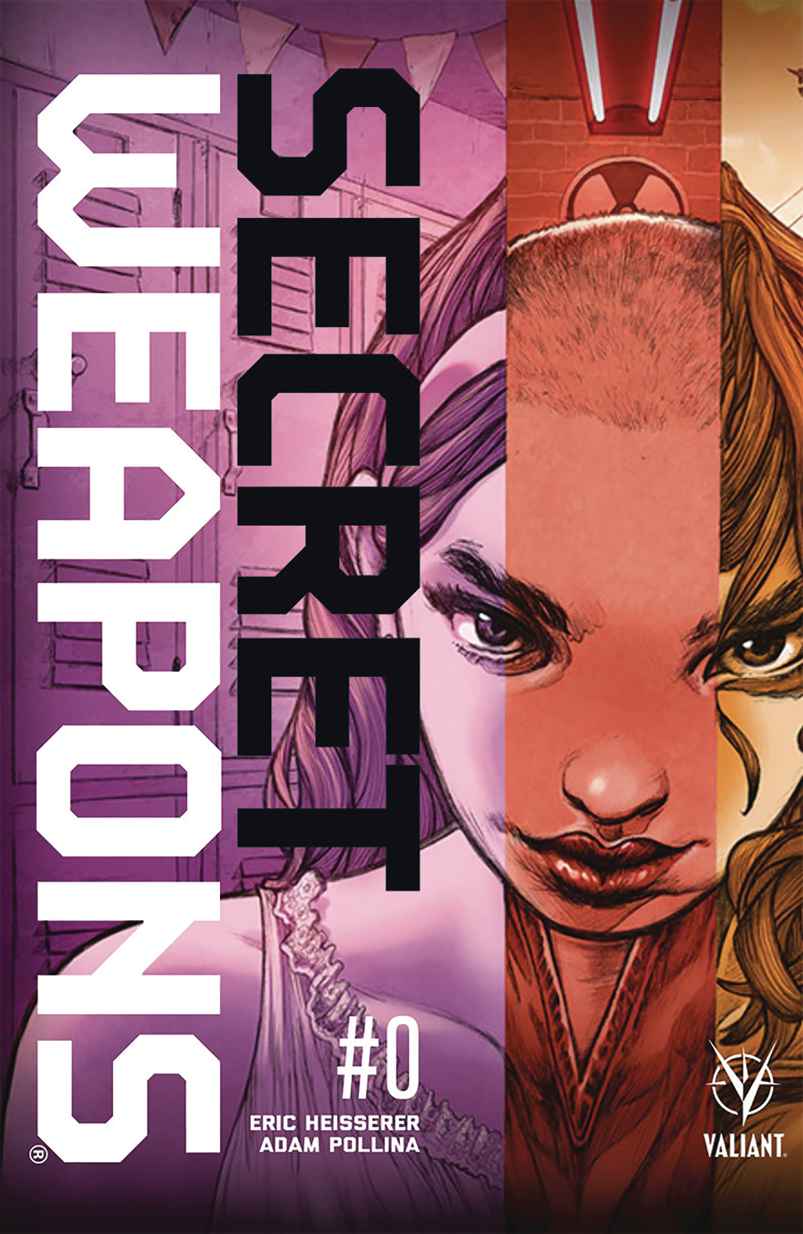 SECRET WEAPONS #0 CVR E 50 COPY INCV POLLINA
