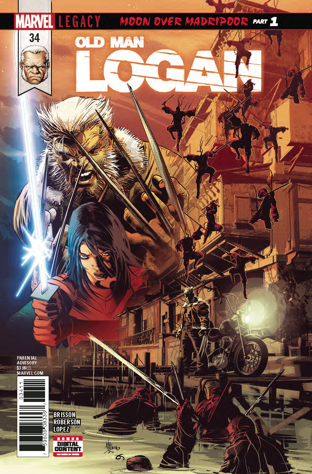 OLD MAN LOGAN #34 LEG